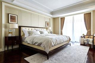 美式风格跃层装修卧室装饰效果图