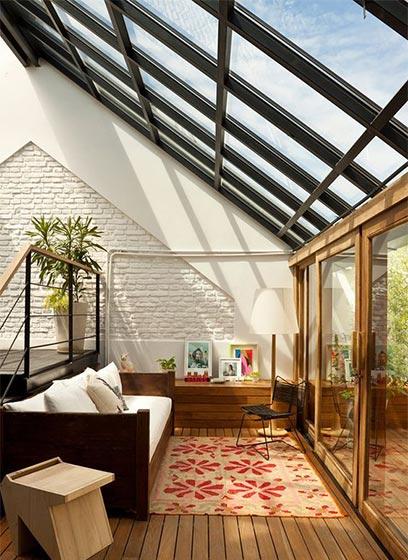 阁楼天窗装修装饰效果图