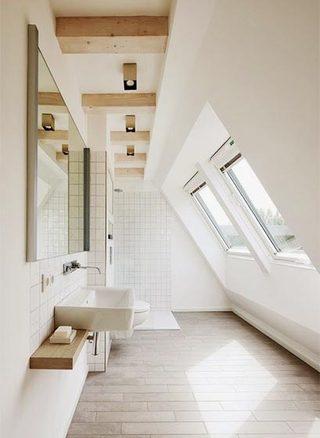 阁楼天窗设计实景图