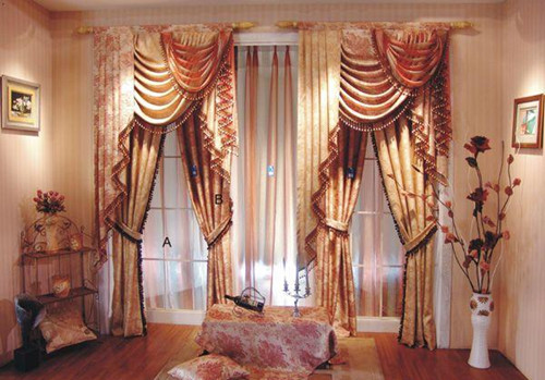 布艺窗帘品牌 布艺窗帘清洗