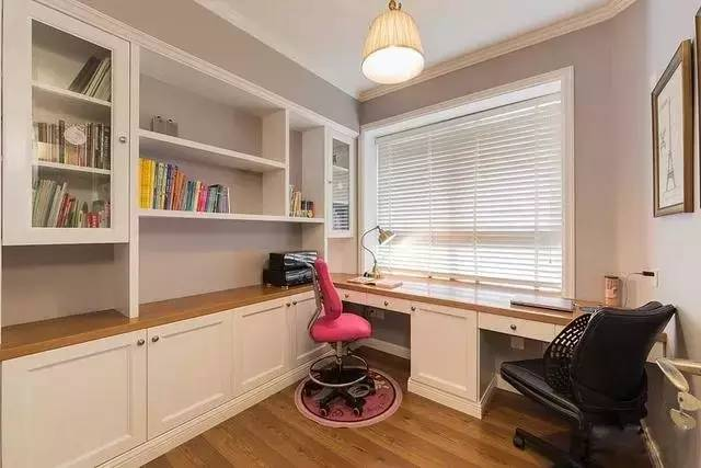 不遮挡光线的百叶窗,组合书柜图片
