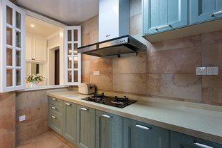 85㎡简美两居室厨房实景图