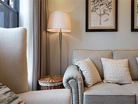 85㎡简美两居室装修效果图 红树林之家