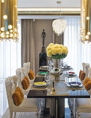 豪华型大户型装修餐厅设计效果图
