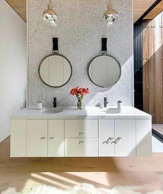 卫生间洗手台设计效果图
