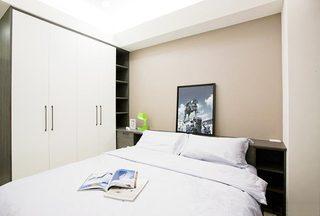 100㎡现代二居室卧室效果图
