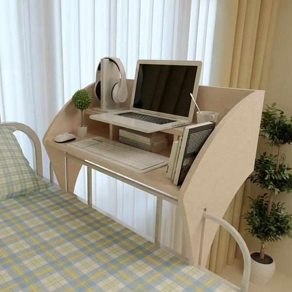 上铺悬空懒人桌▼图片