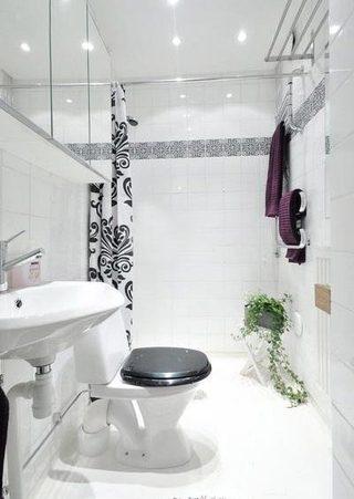 现代简约卫生间设计图片