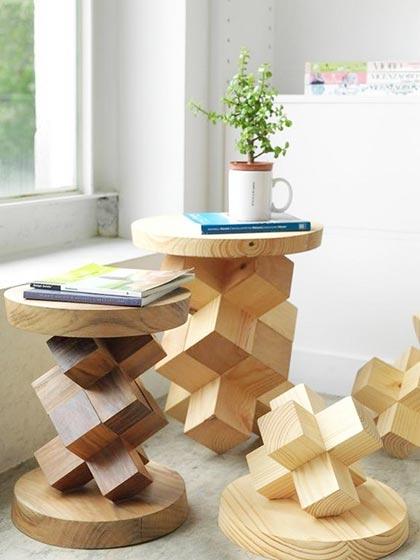 DIY木制家具装修构造图