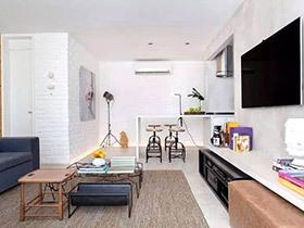 现代简约风格两室两厅装修 简单也有新花样