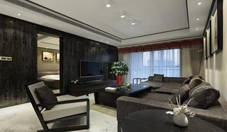 简约风格三居室装修客厅沙发效果图