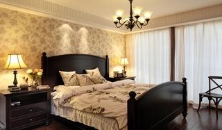 温馨乡村美式卧室装饰设计图