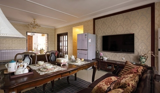 东南亚风格装修 让家更有味道客厅设计