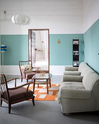 北欧风格公寓客厅装潢设计