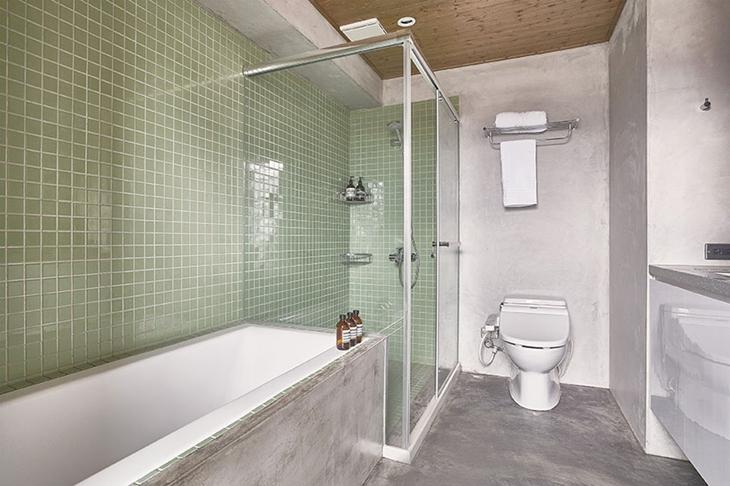 让人喜爱的工业风格装修 水泥也能表现美感卫生间设计