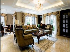 美式风格装修 让家像小城堡一样美妙