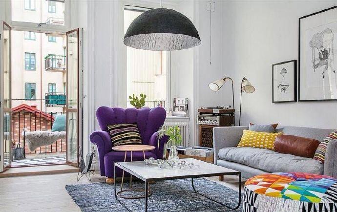 色彩搭配客厅装修效果图