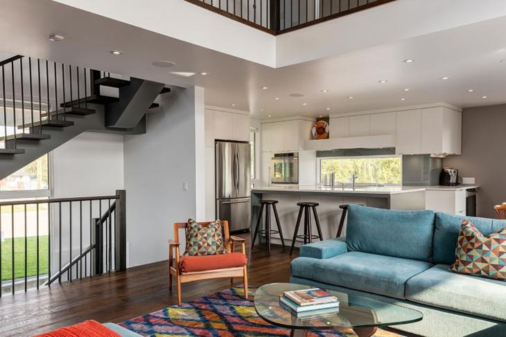 我最爱的简约风格装修简约客厅实景图