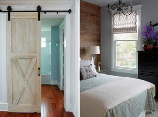 精致的田园风格装修小卧室装潢图