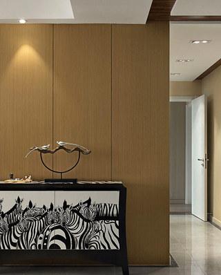 现代简约公寓客厅展示柜图片