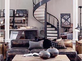 开放式呼吸  10个loft公寓设计实景图