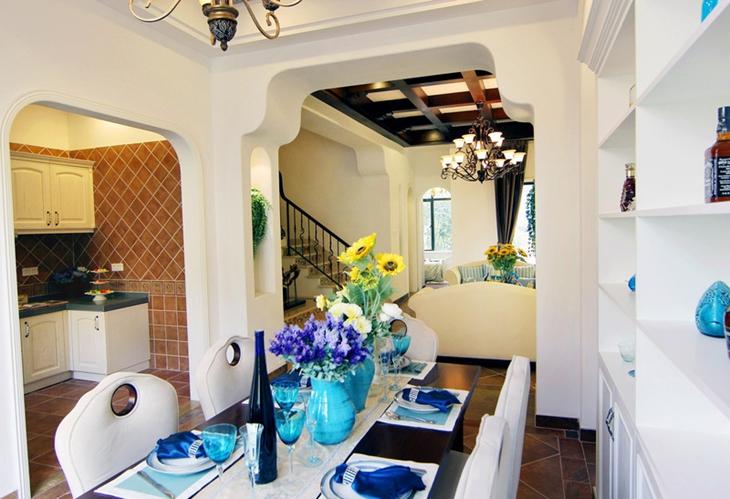 地中海风格装修地中海客厅