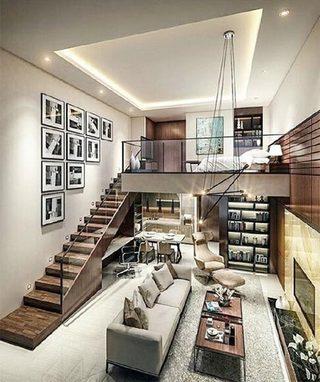 loft公寓设计图片大全