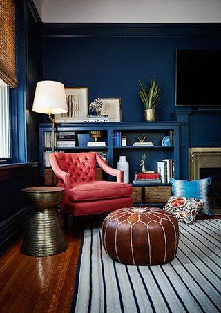 混搭客厅装修效果图片