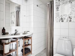 富有特色的北欧风格装修卫生间实景图