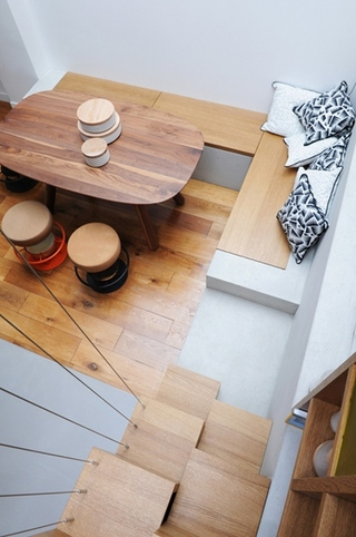 小户型loft风格装修餐厅装潢图