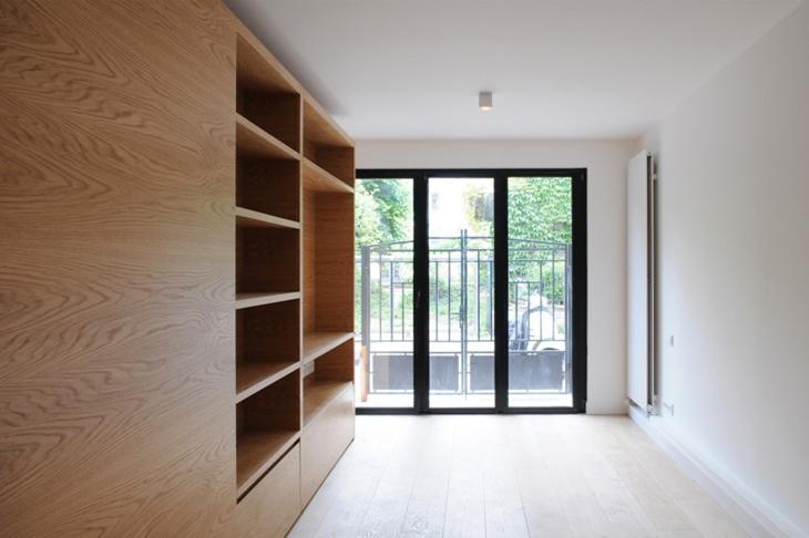 小户型loft风格装修书房装修图