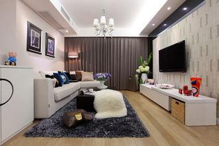 现代装修风格二居家装设计