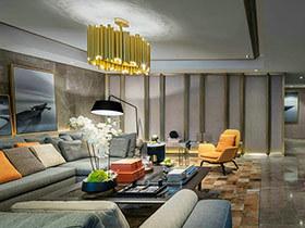 喜欢住酒店的人 这套公寓就很有酒店的感觉