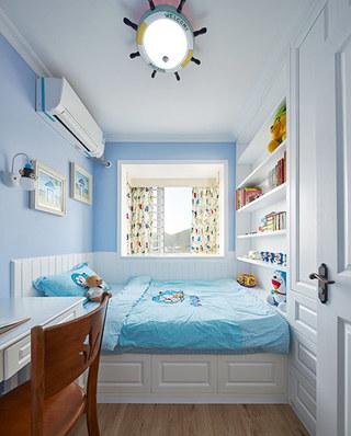 可爱美式儿童房吊顶设计