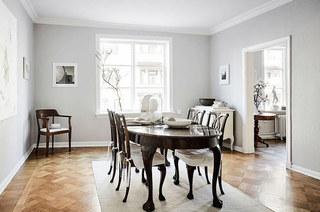 北欧风格公寓餐厅装潢设计