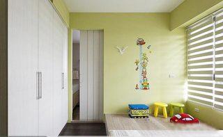 儿童房榻榻米设计实景图
