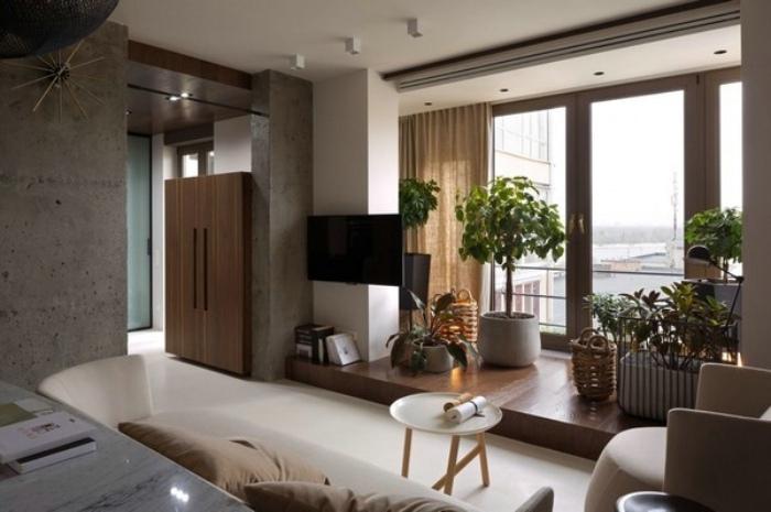 时尚现代家居阳台装修设计