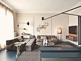 180平现代风格公寓改造装修 有效划分空间