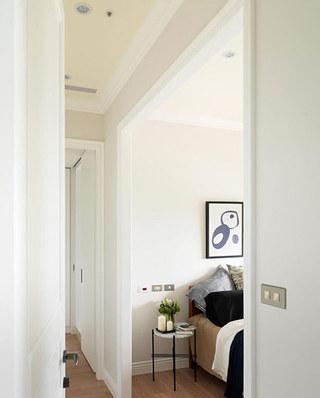 125平北欧婚房装修卧室装修实景图