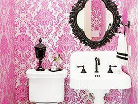 我的少女心  10款粉色系卫生间装修图