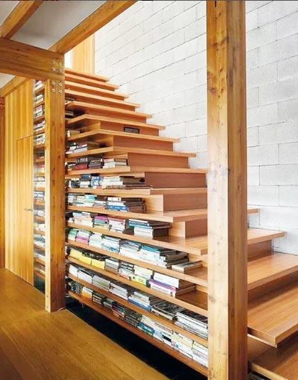 楼梯间收纳装修参考图