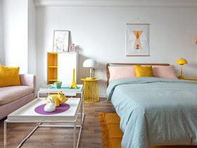 小户型北欧风格一居室装修 精致蜗居生活