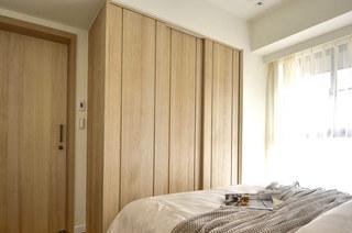60平日式二居室衣柜门图片