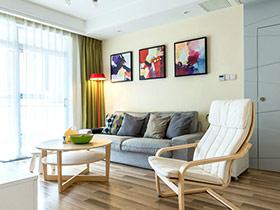 90平简约风格两室两厅装修 幸福味道