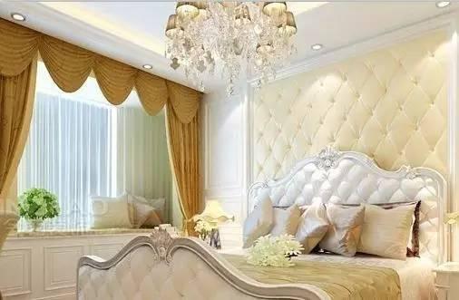 这样的软包比较适合欧式风格的卧室