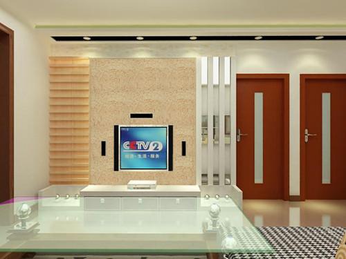 艺术客厅背景墙艺术漆沙发背景墙图片3