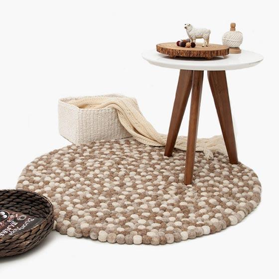 地毯搭配布置图片