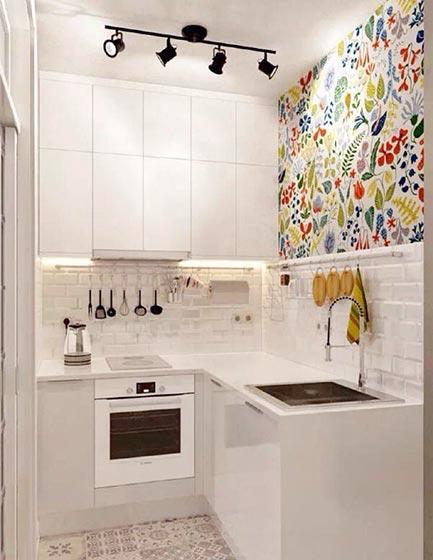 小户型厨房装修设计图