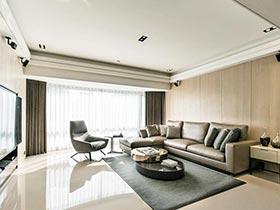 素雅极简新中式 打造品质三居