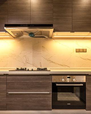 180平样板房装修厨房装修设计